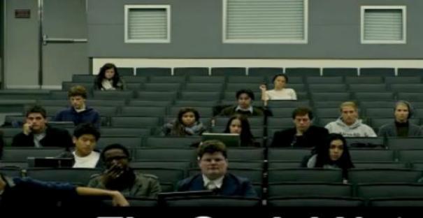 """Figurante em filme """"A rede Social"""""""